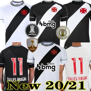 Novo 20 21 Vasco da Gama Futebol Jerseys Maxi Rios Paulinho Fabiano Muriq 2020 2021 Black White Football Shirt
