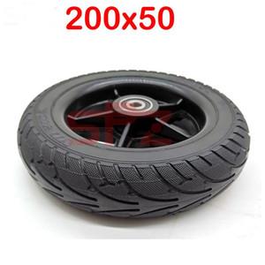 "200x50 솔리드 휠 폭발 방지 8x2 ""전기 스쿠터 균형 차에 대한 고체 200x50 타이어 적합"