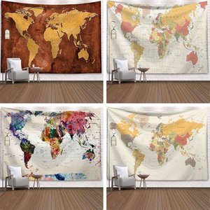 Nordic INS explosion models hanging cloth decorative wall blanket tapenular beach towel tapestry map printing carpet to schedule