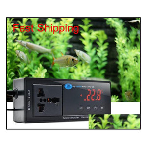 2019 New -40~212 F   -40~100 C Switchable Electronic Thermostat Digital Temperature Controller W  Socket For Reptile, Aquarium, Wsuql Zlnhf