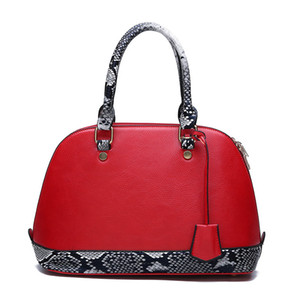 Two piece women's shell new temperament snake design fashion mother and son bag handbag