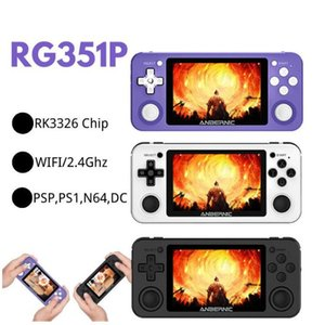 ANBERNIC R351P 3.5i nch IPS Handheld Retro Game Console RK3326 Open Source 3D Rocker 64G 5000 PS Neo MD Video Music Player