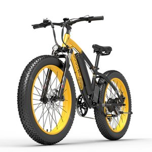 GOGOBEST GF600 Electric Mountain Bike 2 Wheels Electric-Bicycles 1000W 48V 110KM Removable Battery MTB eBike