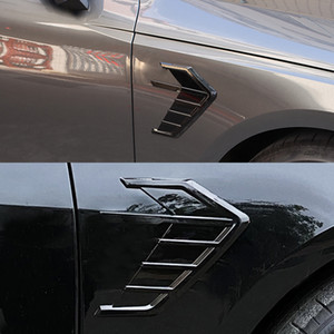For Audi A5 S5 A7 A6 A3 A4 A4L A6L A8 Q7 Q5 S3 S4 S8 RS3 RS4 RS5 RS6 RS8 2pcs Car Vent Side Wing Sticker Fender Sticker