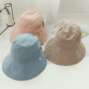 Jiyouou chapeau d'été femme Panama Cap Beach paille Visière chapeau de soleil chapeaux pour femmes Sombrero Fashion Floppy Femmes Visière Sun X0128