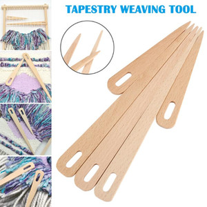 5Pcs Set Wood Hand Loom Stick Weaving Crochet Needle Tapestry DIY Crafts Tools DIY Weaving Sewing Tools Sewing Accessories LXY9