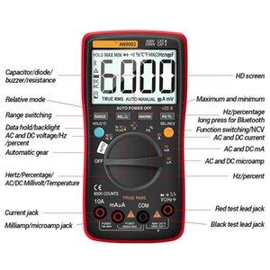 FreeShipping Bluetooth Digital Multimeter 6000 Counts Professional MultimetroTrue RMS AC DC Current Voltage Tester Auto-Range
