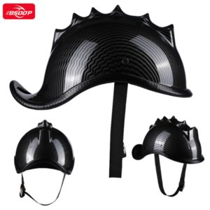Motorcycle Helmets Retro Vintage Moto Helmet Thorn Crown Half Unisex Outdoor Cycling Motocross Safety Summer Knight