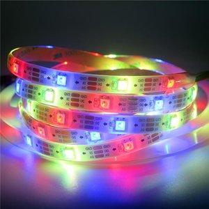 1M 2M 3M 4m 4m 7m endereçável SK6812 RGBW RGBWW LED tira neutral branco água À prova d 'água 30/60/144 LEDs / pixlets / M DC5V Similar WS2812B