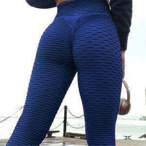 New Scrunch Booty Leggings Fitness Workout Women Elastic Jaquard Textured Leggings For Dropper Hot Sales Plus Size Black Fitness White