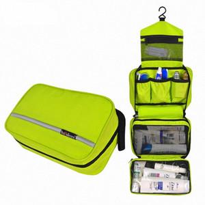 Makeup Bag Oxford Women Travel Compact Waterproof Organizer Wash Cosmetic Bag Men Casual Hanging Multifunction Toiletry Handbag R6UV#