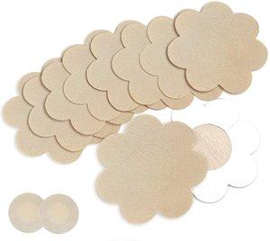 Goldfarm Nipple Breast Covers Breast Pasties Adhesive Bra Disposable 10 Pairs