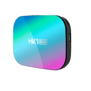 Hot selling Android 9.0 TV BOX HK1 Amlogic S905X3 Quad-core 4GB 32GB 4GB 64GB 4GB 128GB 2.4G 5GWIFI&Bluetooth 8K smart box ZH