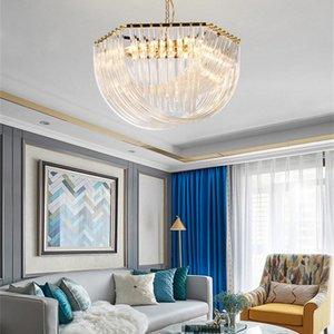 Luxury crystal chandelier living room gloss Sarah modern lighting bedroom interior lamp Art romantic restaurant lamps