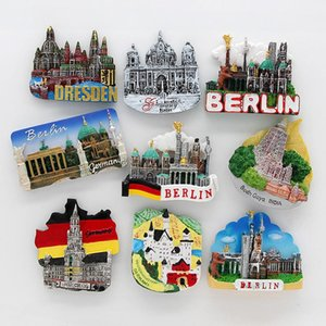 Magnetic Cathedral Germany Cologne Munich Dresden Neikal Souvenir Tourism Fridge Heidelberg Refrigerator Berlin StickersXHEZSU