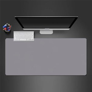 Mouse Pads & Wrist Rests Pad Notebook Computer Keyboard Desk Solid Color Oversized Waterproof Table Mat High-end