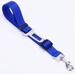 Hot Sale 6 Colors Cat Dog Car Safety Seat Belt Harness Adjustable Pet Puppy Pup Hound Vehicle Seatbelt Lead Leash for Dogs OOF5297