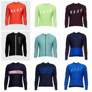 Maap Soudal Team Cyclisme à vélo Longues manches longues Jersey Hommes Cycle respirant Variété d'options Tops Vêtements Extérieur 31653