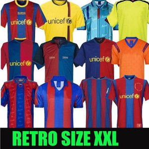 Барселона Ретро футбольные трикотажки 05 06 07 08 09 10 11 12 13 15 16 19 20 91 92 96 97 98 99 Messi Ronaldinho Ronaldo 100 Джерси Футбол SD