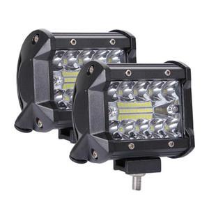 200W 4in Car LED Work Light Bar Driving Lamp for Offroad Boat Tractor Truck 4x4 SUV Fog Light 12V 24V Headlight for ATV Led Bar
