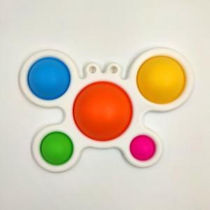 Livre DHL Baby Sensory Simples Brinquedos Presentes Adulto Criança Engraçado Anti-Stress Reliver Reliver de Estresse Push Bubble Fidget Popper Brinquedos H25C88