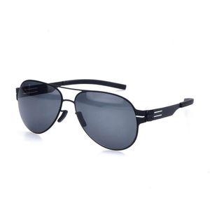 Дизайнер нет бренда винты поляризованные солнцезащитные очки для мужчин и женщин Очки модные с делом 17ZB градиент модный вождение ретро солнцезащитные очки UV400