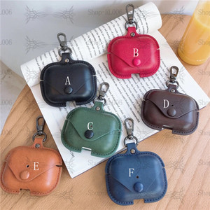 (High-quality leather earphone box) Suitable for Airpod1-2 general + Airpod pro earphone box, quality assurance + perfect protection
