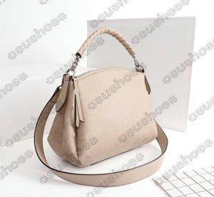 إمرأة مصممي إضافات Boblone BB حقائب الكتف حقائب اليد المحافظ Bablone BB المرأة مثقبة الجلود crossbody M50068