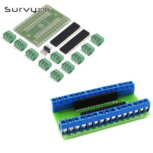 Integrated Circuits NANO V3.0 3.0 Controller Terminal Adapter Expansion Board IO Shield Simple Extension Plate For Arduino AVR ATMEGA328P