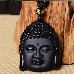 Kaiguang Dayi Tathagata Benming Pendant men's and women's frosted head transfer Buddha Necklace