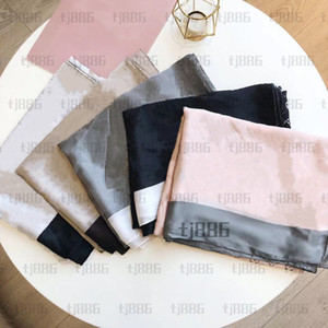 2021 Silk Scarf 5 Seasons Scarf Fashion for woman Shawl Scarves Size about 180x70cm 7Color with Gift Packing Optional