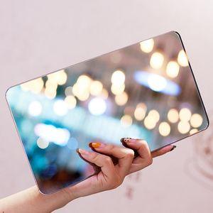 Мини портативное зеркало поверхность поверхности ванной весы цифровая электронная веса тела путешествия умная шкала точный вес посадки