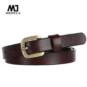 Medyla дизайнерские ремни Женские ремень высокое качество натуральная кожа из известных бренда женские ремень для джинсов юбка для джинсов юбка для девочек кофе кофе