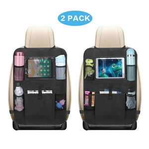 Car Organizer 2PCS Seat Multi-Pocket Auto Phone Pocket Pouch Back Protector Hanging Storage Bag For Toys