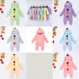 Funny Autumn Winter Dinosaur New Cute Romper Baby Girl Clothes Solid Baby Boy Clothes Babygirl Onesie New Born Baby 1SZ4S