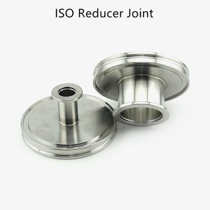 ISO Conical Reducer Adapter Vacuum Flanges Pipe Fitting Conical Reducing Joint Connector Flange Adapter Stainless Steel 304