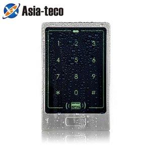 Teclado de control de acceso de metal impermeable RFID 8000 usuarios 125kHz Lector de tarjetas Teclado Tecla FOBS Control de acceso a la puerta