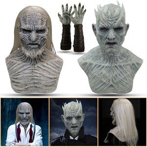 Other Event & Party Supplies Mascarillas Masks Another Me-halloween Horror Long Hair Walker Wrinkle Scary Face Mask Masque Mouth Caps Washab
