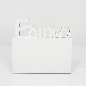 Woodiness Sublimation Blank Frames MDF DIY Three Dimensional Hollowing Out Blank Slate Letter Shape Laser Cutting Home Accessory HWB4944