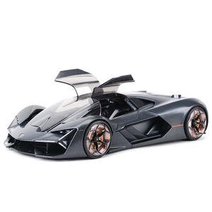 BBurago 1:24 Terzo Millennio Static Die Cast المركبات النادرة نموذج سيارة اللعب 210226