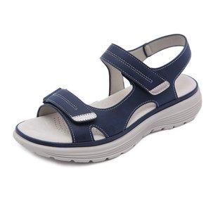 Women's Summer Wedges Anti-slip Beach Toenail Open Sandals Breathable Sports Style Sx3 Shoes K6rs