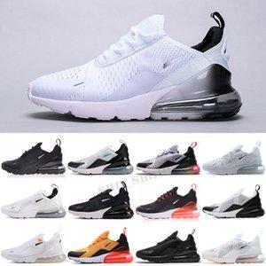 Max 270 Zapatillas deportivas Running Triple Negro Todas las mujeres blancas para hombre de primera calidad degradado de verano Photo Blue Hot Trailers Sneakers Tamaño 36-45