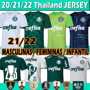 Palmeiras maillot de football Libertadores Finales 21 22 New Soccer Jersey Luiz Adriano Felipe Melo 2020 2021l Hommes Femmes Enfants Kits Gardien Maillots de football