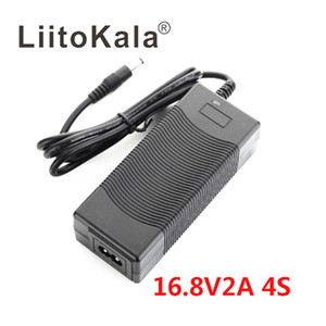 2020 LiitoKala 4S 16.8V 2A Lithium-ion battery pack Universal Fast charger AC DC5521 Desktop type Power Supply Adapte