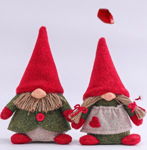 Happy Mother's Day Gnome Plush Dolls with Love Heart Love Mom Toy Doll Birthday Festival Home Decor Gift