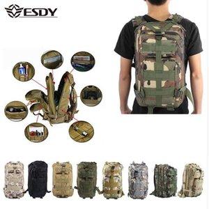 Zaino tattico militare da uomo 30L Camouflage Sport all'aperto Escursionismo Camping Caccia Borse da caccia Donne Viaggiando Trekking Zaini BAGA