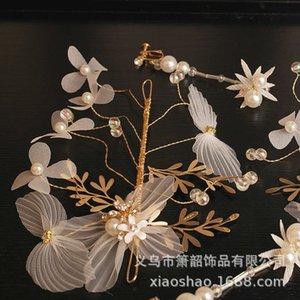 Tocado de novia Nuevo vestido Super Fairy Hair Edge Clip Wedding Mori Xianmei Touast Accesorios