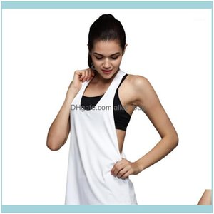 Outfits Exercise Wear Athletic Outdoor Apparel Sports & Outdoorssummer Women Tank Tops Dry Quick Yoga Shirts Loose Gym Fitness Sport Sleevel