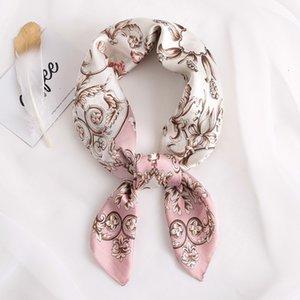 Women's sunshade clothing decoration sunscreen autumn occupation flower pattern scarves 2PR5