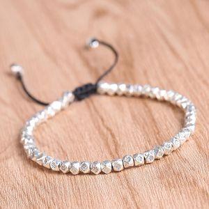 Bracelet for Women Popular Ethnic Style Geometric Design Light Luxury Beaded Bracelet Jewelry Accessories Wholesale
